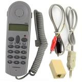 Harga Telepon Telepon B*tt Test Tester Lineman Tool Cable Set W Konektor Joiner Tiongkok