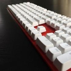 Tembus Doubleshot ABS 106 Pcs KeyCaps untuk Cherry MX Keyboard Ganti-Intl
