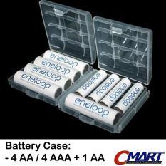 Tempat Baterai 4 AA / 4 AAA + 1 AA Battery Case batre - GRC-BC-P4AA