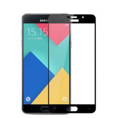 Beli Temper Glass Full Screen Cover Samsung Galaxy A7 2016 A710 List Black Murah