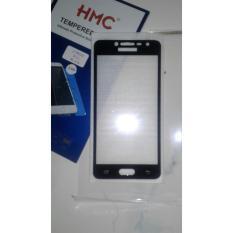 Temper Glass Full Screen Cover Samsung Galaxy J2 Prime List Black