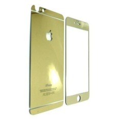 Tempered Glass 3D 2in1 iPhone 6 Iphone6 iPhone 6G iphone 6S 4.7 Inch Diamond Mirror - Gold