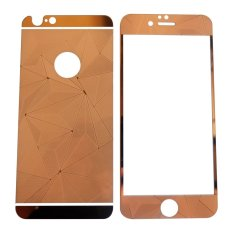Tempered Glass 3D 2in1 For iPhone 6/ Iphone6/ iPhone 6G/ iphone 6S Ukuran 4.7 Inch Diamond Colour Screen Protection - Rose Gold
