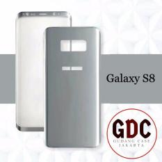 Tempered Glass 3D Front+Back samsung galaxy S8 - Silver