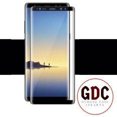Dimana Beli Tempered Glass 3D Full Color Samsung Note 8 Black Gdc