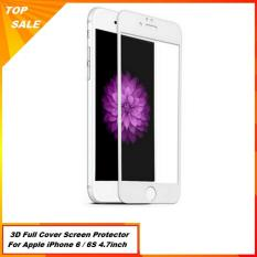 Promo Toko Tempered Glass 3D Full Cover For Apple Iphone 6 6S White