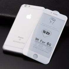 Top 10 Tempered Glass 5D Iphone 6 6S 4 7 Screen Guard Anti Gores Kaca Putih Online