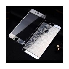 Tempered Glass Apple iPhone 6G 6S Mirror 3D Diamond - Silver