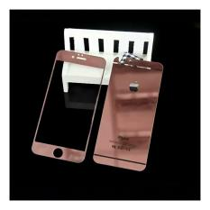 Tempered glass depan belakang iphone 6/6s Rose Gold
