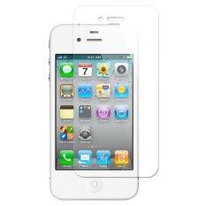 Apple iPhone 4  Anti Gores Kaca / Tempered Glass Kaca Bening