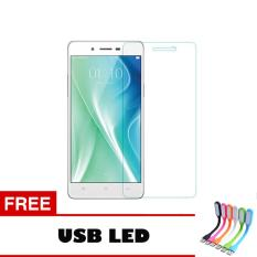 Tempered Glass For Oppo Neo 9 A37 Ultra Screen Protector + Free Usb Led