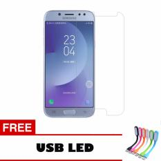 Tempered Glass For Samsung Galaxy J5 Pro Ultra Screen Protector + Free Usb Led