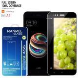 Harga Tempered Glass For Xiaomi Mi A1 Mi A1 Dual Camera Full Premium Tempered Glass 2 5D Hitam Seken
