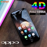 Beli Barang Tempered Glass Full Cover 4D Oppo F1S Screen Protector Anti Gores Anti Gores Kaca Hitam Online