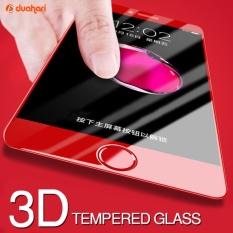 Tempered Glass Full Cover Warna Merah Screen Protector untuk iPhone 6/6s