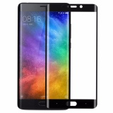 Harga Tempered Glass Full Screen Black For Xiaomi Mi Note 2 9H Screen Curve Full Cover Melengkung Anti Gores Kaca Screen Guard Screen Protection Temper Glass Pelindung Layar Kaca Xiaomi Mi Note 2 Depan Only Black Hitam Asli Icantiq