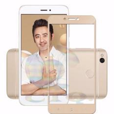 Tempered Glass Full Screen Gold For Xiaomi Redmi 4X 9H Screen Anti Gores Kaca / Screen Guard / Scre