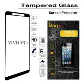 Review Tempered Glass King Zu For Vivo V7 Plus Full Anti Gores Hitam Indonesia