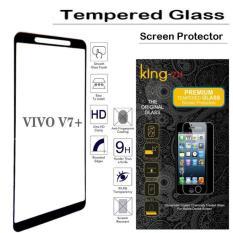 Harga Tempered Glass King Zu For Vivo V7 Plus Full Anti Gores Hitam King Zu Indonesia