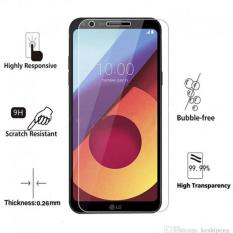 Tempered Glass LG Q6 Ukuran 5.5 Inch Temper Anti Gores Kaca 9H / Pelindung Layar / Temper LG Q6 / Screen Guard / Screen Protection / Anti Gores Kaca LG Q6 / Temper Kaca - Transparant