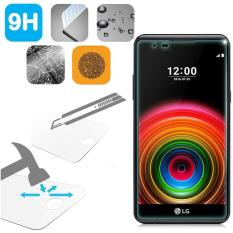 Tempered Glass LG X Power Ukuran 5.3 Inch Temper Anti Gores Kaca 9H / Pelindung Layar / Temper LG X Power / Screen Guard / Screen Protection / Anti Gores Kaca LG XPower / Temper Kaca - Transparant
