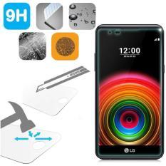 Tempered Glass LG X Power Ukuran 5.3 Inch Temper Anti Gores Kaca 9H / Pelindung Layar / Temper LG X Power / Screen Guard / Screen Protection / Anti Gores Kaca LG XPower / Temper Kaca - Transparant