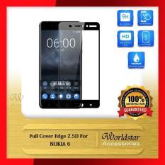 Beli Tempered Glass Nokia 6 Nokia 6 Full Cover Screen Hitam Kredit Banten