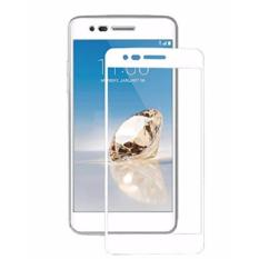 Tempered Glass Protector - LG K8 2017 - Kaca Anti Gores List White