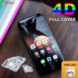 Harga Tempered Glass Putih Full Cover 4D Iphone 7 Plus 4D Iphone 7 Tempered Glass Baru Murah