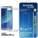 Beli Barang Tempered Glass Ranmel For Samsung Galaxy J5 Pro Full Anti Gores Putih Online