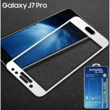 Spesifikasi Tempered Glass Ranmel For Samsung Galaxy J7 Pro Full Anti Gores Putih Yg Baik