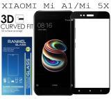 Harga Tempered Glass Ranmel For Xiaomi Mi A1 Xiaomi Mi 5X Full Anti Gores Hitam Dan Spesifikasinya