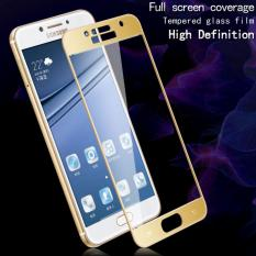 Jual Tempered Glass Samsung Galaxy A5 2017 A520F Full Screen Protector List Gold Dki Jakarta Murah