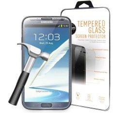 Tempered Glass Samsung Galaxy Note 2 N7100 AntiGores Kaca / Screen Guard / Screen Protector / Pelindung Layar - Clear