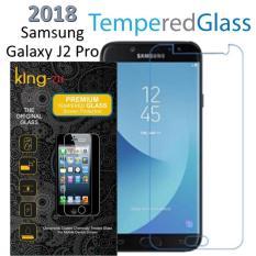 Tempered Glass  Screen For King Zu Samsung Galaxy J2 Pro 2018   Screen Anti Gores Kaca / Screen Guard / Screen Protection / Temper Glass / Pelindung Layar Kaca  / bening
