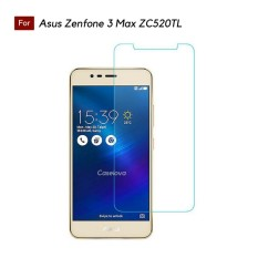 Tempered Glass Screen Protector Anti Gores Kaca Asus Zenfone 3 Max 5.2 Inch ZC520TL - Clear