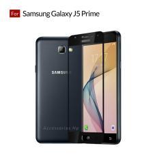 Tempered Glass Screen Protector / Anti Gores Kaca Samsung Galaxy J5 prime - Hitam