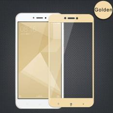 Tempered Glass Screen Protector / Anti Gores Kaca Xiaomi Redmi 4X / 4X Prime layar 5 inch - Emas