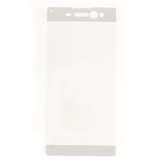 Pelindung layar anti gores lengkap meliputi untuk Sony Xperia XA Ultra - putih - International