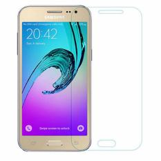Samsung Galaxy J3 2016 (J310)  Anti Gores Kaca / Tempered Glass Kaca Bening