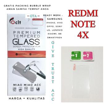Tempered Glass Screen Protector for Xiaomi Redmi NOTE 4X - BENING.