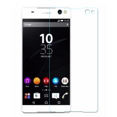 Tempered Glass Sony Xperia C5 Anti Gores Screen Guard Protector Clear Diskon Indonesia