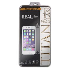 Tempered Glass Titan for Blackberry Q10 / BB Q10 - Rounded Edge 2.5D - Clear