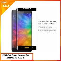 Tempered Glass Xiaomi Mi Note 2 Full Cover Screen Hitam Banten Diskon