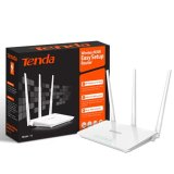 Tenda F3 300Mbps Network Wireless Router Asli
