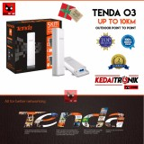Harga Tenda O3 Outdoor Ap Access Point To Point 2 4Ghz Cpe Router Extender Tenda Baru