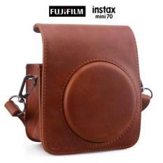 TERBARU Fujifilm Kamera Instax Mini 70 Camera Leather BAG Hanya Tas Saja