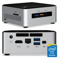 Terbaru Processor Intel NUC5 I3RYH-4S240 ( Core I3 5010- 4GB- SSD 240GB- DOS )
