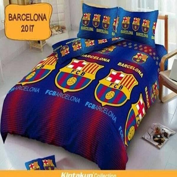 Terbaru Sprei Bonita Barca No.1 King 180 Seprai Sprai Sepray Barcelona