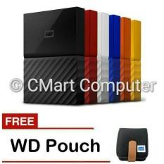 TERLARIS WD My Passport 2TB HDD Hardisk Harddisk External Eksternal WDBYFT0020B